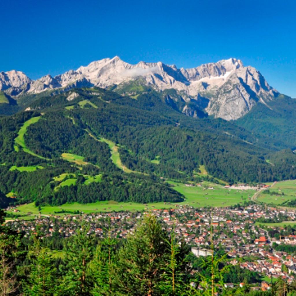 Garmisch und die Zugspitze