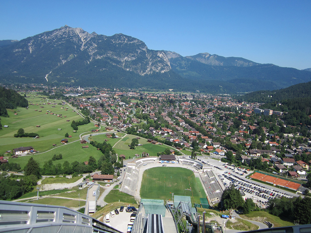 Sprungschanze Garmisch