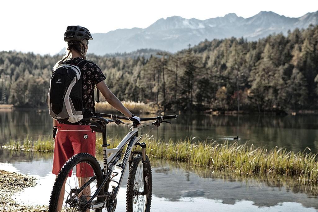 Biken am Weissensee in der Tiroler Zugspitz Arena