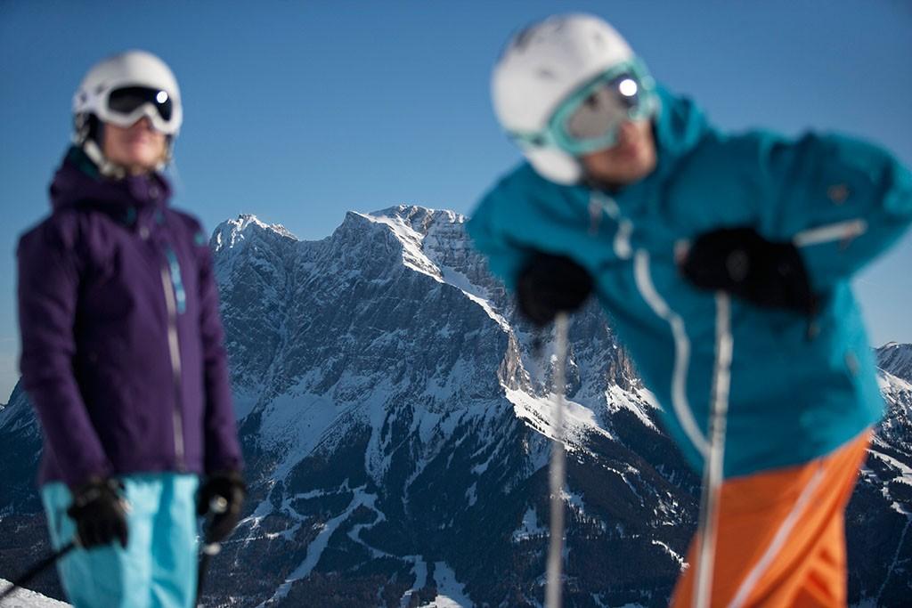 Skifahren Tiroler Zugspitz Arena
