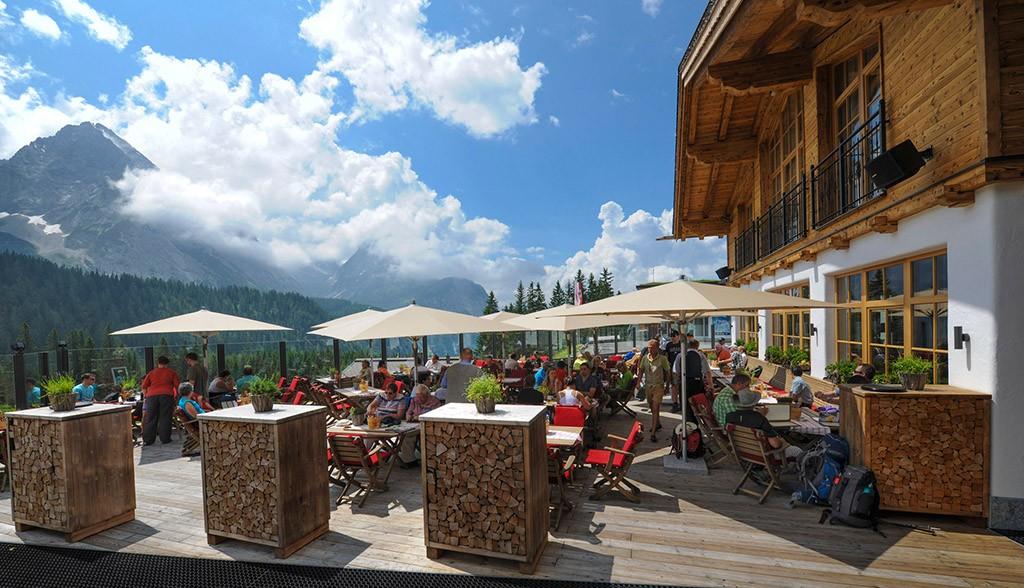 Tiroler Haus an der Ehrwalder Alm