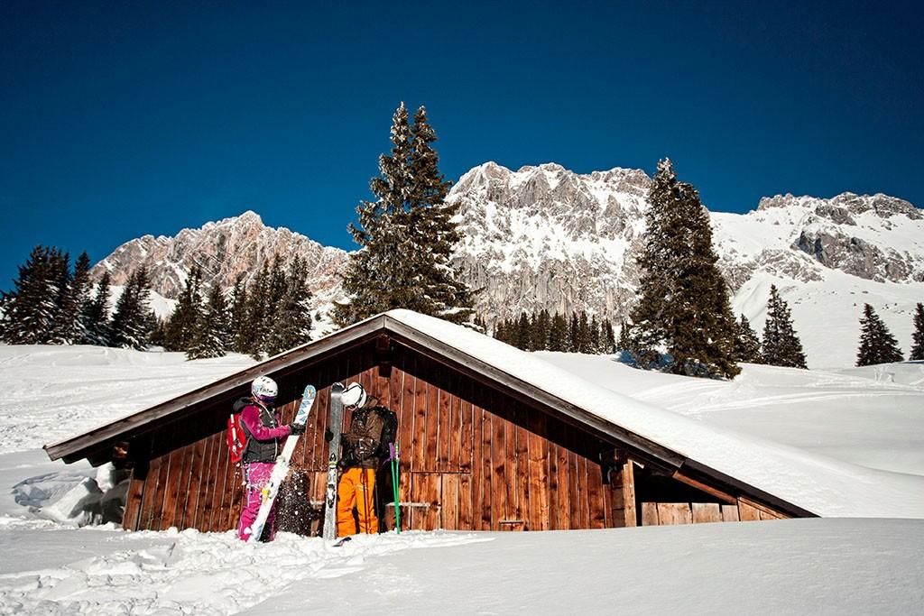 Ehrwalder Alm Skifahren