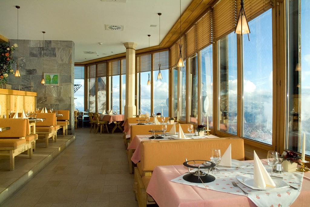 Restaurant auf der Zugspitze